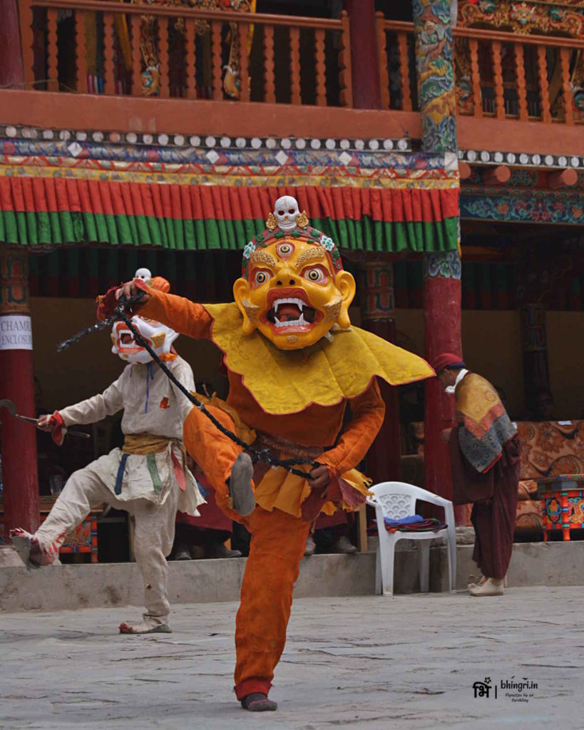 Masked dancer, Hemis Festival
