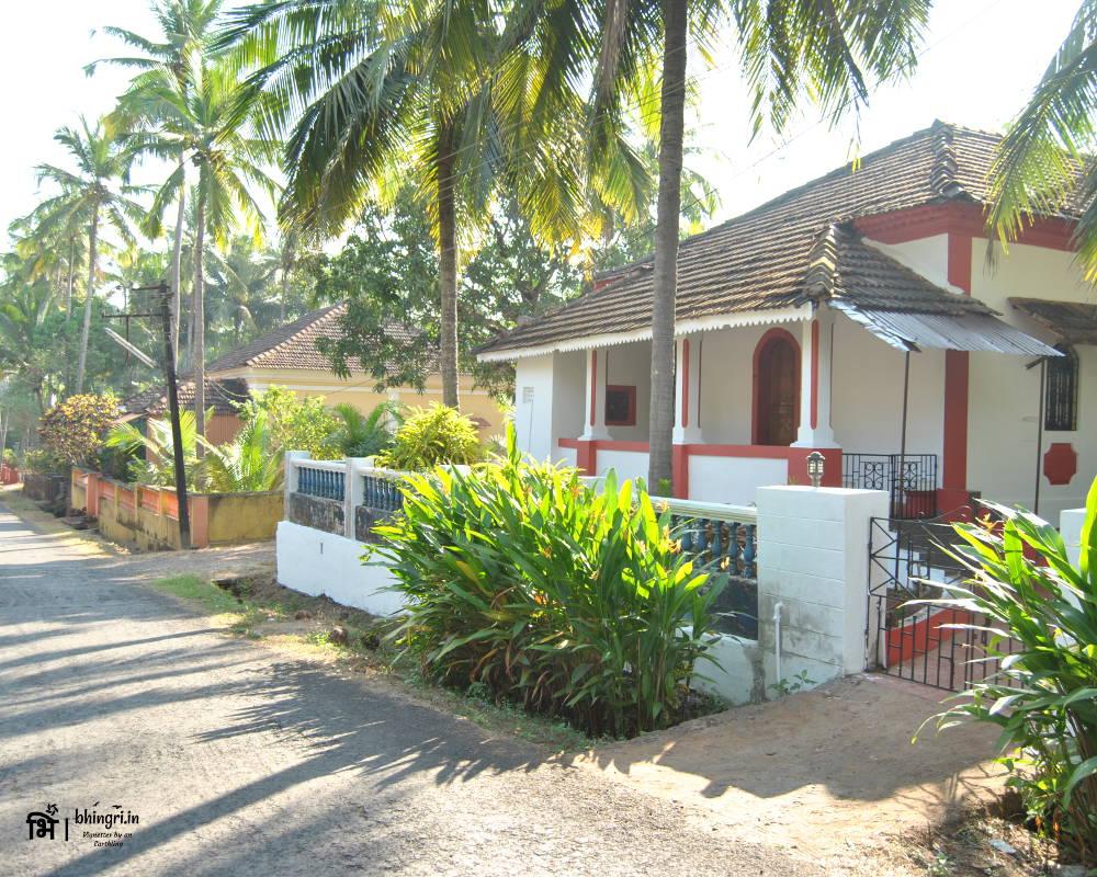 A beautiful Portuguese villa on Diwar island