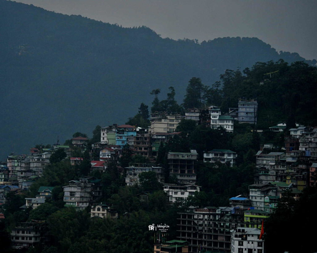 Gangtok, the city waking up from slumber