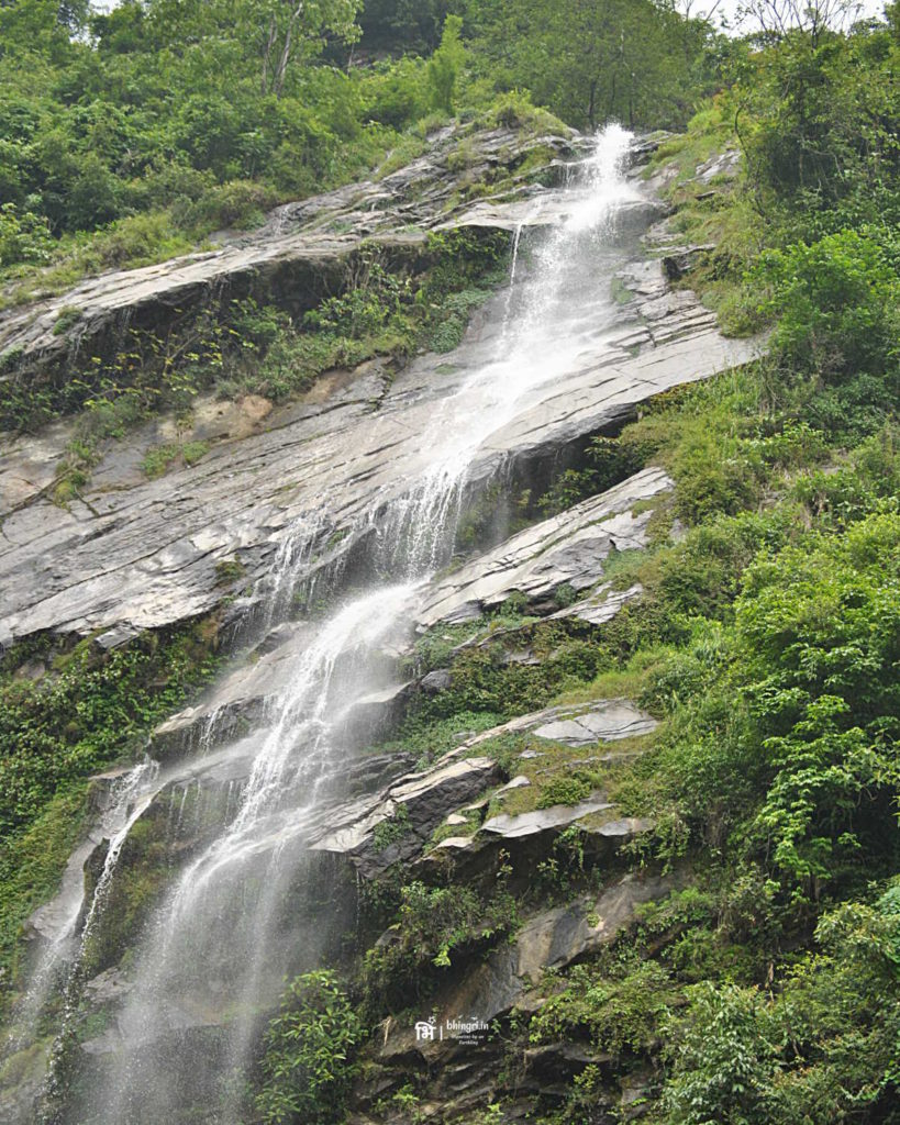 Waterfalls aplenty during the journey towards Gangtok