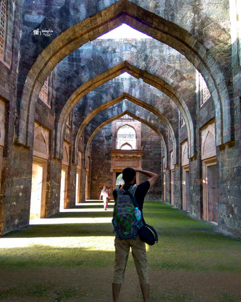 Hindola Mahal served as King's courtyard