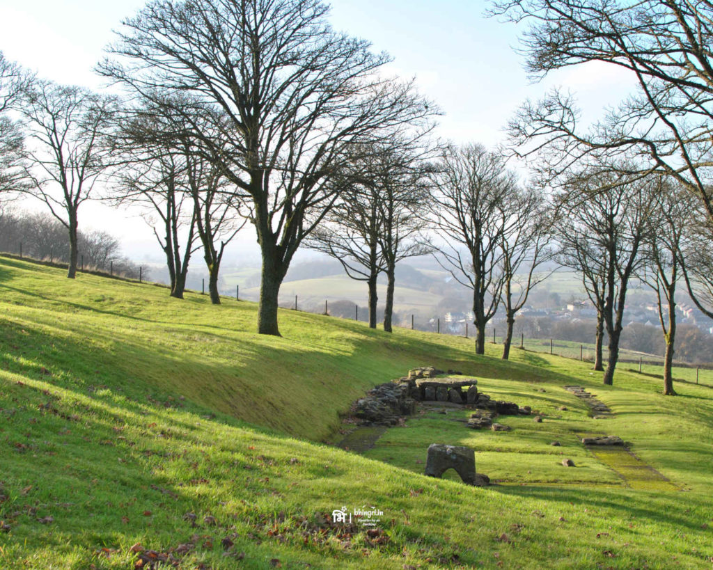 Bar Hill Iron Age fort remains