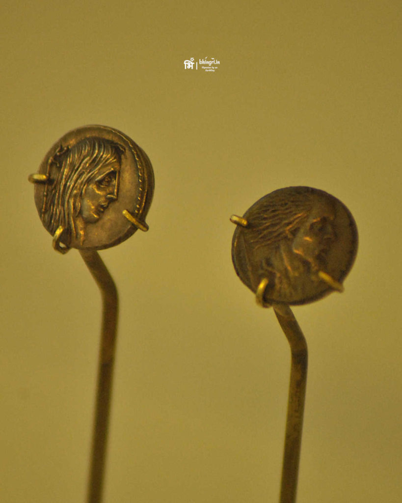 Coins depicting Celts as barbarians