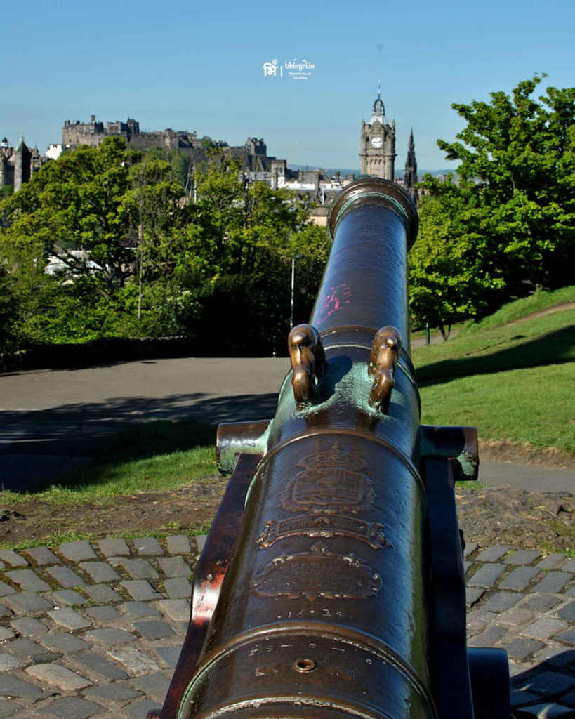 A well travelled cannon