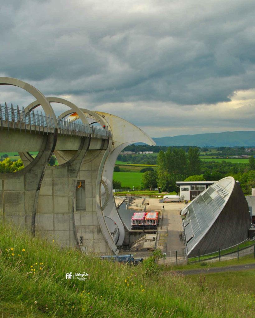 Falkirk wheel visitor centre