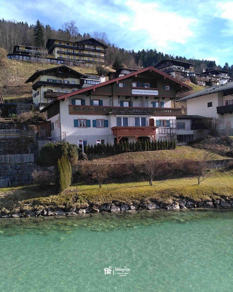 Berchtesgaden town hidden in a little corner in the south east Bavaria.