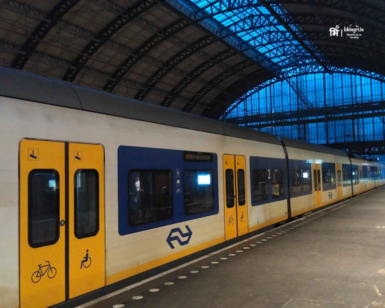 I was in love with the spacious and beautiful Dutch intercity trains